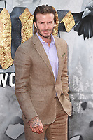 David Beckham<br /> at the premiere of &quot;King Arthur:Legend of the Sword&quot; at the Empire Leicester Square, London. <br /> <br /> <br /> &copy;Ash Knotek  D3265  10/05/2017