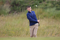Luke O'Sullivan (Malone) during Round 2 of the North of Ireland Amateur Open Championship 2019 at Portstewart Golf Club, Portstewart, Co. Antrim on Tuesday 9th July 2019.<br /> Picture:  Thos Caffrey / Golffile<br /> <br /> All photos usage must carry mandatory copyright credit (© Golffile | Thos Caffrey)
