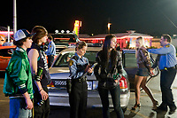 Sex Drive (2008) <br /> Amanda Crew, Charlie McDermott, Mark Young, Katrina Bowden, Keith Hudson &amp; Darryll Scott<br /> *Filmstill - Editorial Use Only*<br /> CAP/MFS<br /> Image supplied by Capital Pictures