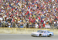 Terry Labonte 44 Oldsmobile action Daytona 500 at Daytona International Speedway in Daytona Beach, FL in February 1986. (Photo by Brian Cleary/www.bcpix.com) Daytona 500, Daytona International Speedway, Daytona Beach, FL, February 16, 1986.  (Photo by Brian Cleary/www.bcpix.com)