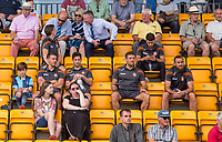 Players and staff during the pre season friendly match between Slough Town and Wycombe Wanderers at Arbour Park Stadium, Slough, England on 8 July 2017. Photo by Andy Rowland.