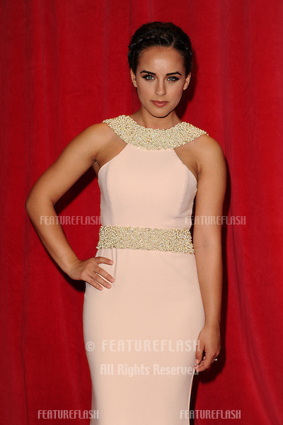 Georgia May Foote arriving for the 2014 British Soap Awards, at the Hackney Empire, London. 24/05/2014 Picture by: Steve Vas / Featureflash