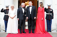 Donald and Melania Trump Host Dinner at Winfield House