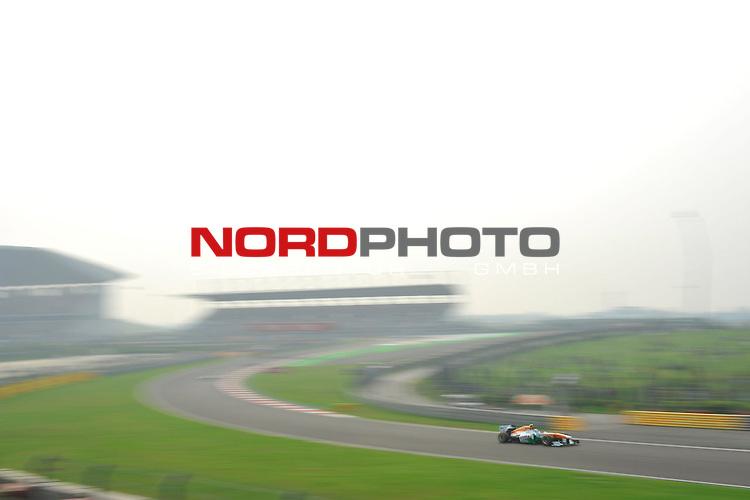 25.-27-10-2013, Jaypee-Circuit, Noida, IND, F1, Grosser Preis von Indien, Noida, im Bild Adrian Sutil (GER), Force India Formula One Team <br />  Foto &copy; nph / Mathis