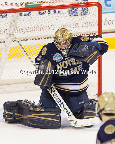 Steven Summerhays (Notre Dame - 1) - The Boston College Eagles defeated the visiting University of Notre Dame Fighting Irish 3-1 (EN) on Friday, November 9, 2012, at Kelley Rink in Conte Forum in Chestnut Hill, Massachusetts.