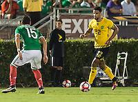 Pasadena, CA - Thursday June 09, 2016: Garath McCleary during a Copa America Centenario Group C match between Mexico (MEX) and Jamaica (JAM) at Rose Bowl Stadium.