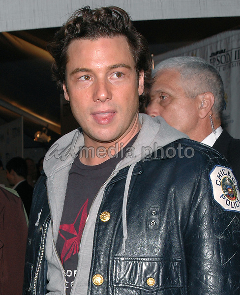 12 May 2005 - New York, New York - Celebrity chef Rocco DeSpirito arrives at the premiere of &quot;Star Wars III Revenge of the Sith&quot; at the Ziegfeld Theater in Manhattan.<br />