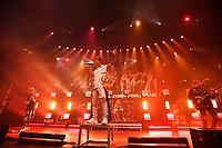 LONDON, ENGLAND - MAY 10: Ryota Kohama, Takahiro Moriuchi, Tomoya Kanki and Toru Yamashita of 'ONE OK ROCK performing at The Roundhouse on May 10, 2019 in London, England.<br /> CAP/MAR<br /> &copy;MAR/Capital Pictures