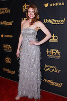 HOLLYWOOD, LOS ANGELES, CA, USA - NOVEMBER 14: Maitland Ward arrives at The Hollywood Reporter's 18th Annual Hollywood Film Awards After Party held at the W Hollywood on November 14, 2014 in Hollywood, Los Angeles, California, United States. (Photo by David Acosta/Celebrity Monitor)