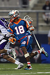 San Francisco Dragons vs Los Angeles Riptide.Lebard Stadium, Orange Coast College,Huntington Beach, California.Kyle Harrison (#18).506P0824.JPG.CREDIT: Dirk Dewachter