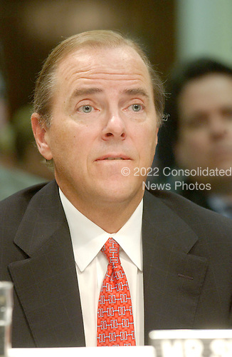 Washington, D.C. - February 26, 2002 -- Testimony of Jeffrey Skilling,  former President and CEO, Enron Corporation, before the U.S. Senate Commerce, Science and Transportation Committee to examine certain issues with respect to the collapse of Enron Corporation..Credit: Ron Sachs / CNP