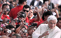 General audience Pope Benedict XVI in St. Peter's Square at the Vatican. October 3, 2012