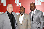 Wayne Duvall, Michael Potts and Carl Hendrick Louis attends the Broadway Opening Night Party for George Orwell's '1984' at The Lighthouse Pier 61 on June 22, 2017 in New York City.