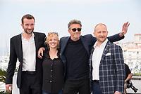Pawel Pawlikowski; Joanna Kulig; Tomasz Kot<br /> 10-05-2018 Cannes <br /> 71ma edizione Festival del Cinema <br /> Foto Panoramic/Insidefoto