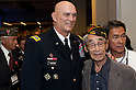 U.S. Army Chief of Staff Gen. Raymond T. Odierno stands next to a Nisei Veteran at the WWII Nisei Veterans Program National Veterans Network tribute to the 100th Infantry Battalion, 442nd Regimental Combat Team and Military Intelligence Service on Nov. 1, 2011 in Washington, D.C. (U.S. Army photo by Staff Sgt. Teddy Wade/AFLO) [0006]