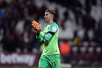 Adrian of West Ham United applauds the fans after West Ham United vs Tottenham Hotspur, Caraboa Cup Football at The London Stadium on 31st October 2018