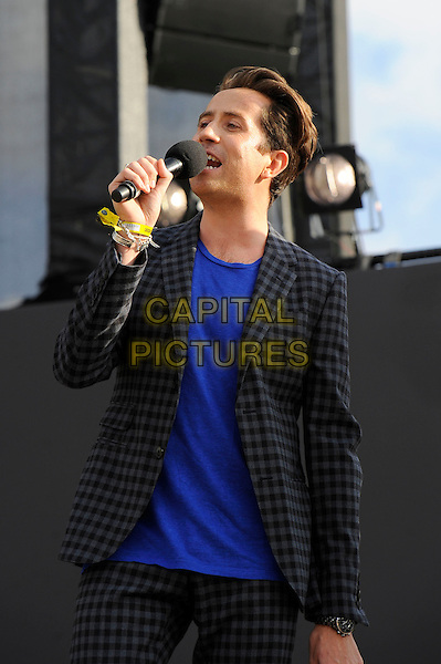 LONDON, ENGLAND - SEPTEMBER 14:  Nick Grimshaw attending The Jaguar Land Rover Invictus Games Closing Concert at Queen Elizabeth Olympic Park on September 14, 2014 in London, England.<br /> CAP/MAR<br /> &copy; Martin Harris/Capital Pictures