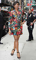 NEW YORK, NY - APRIL 17: Jennifer Hudson at Good Morning America to talk about new series Sandy Wexler in New York City on April 17, 2017. <br /> CAP/MPI/RW<br /> &copy;RW/MPI/Capital Pictures