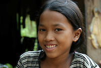 Siam Reap, Cambodia, Little Girl