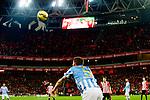 Football match during La Liga de Fútbol, between the teams Athletic Club and Malaga CF<br /> Bilbao, 25-01-14<br /> antunes<br /> Rafa Marrodán/PHOTOCALL3000