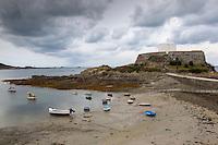 Europe/Royaume-Uni/Îles Anglo-Normandes/Île de Guernesey/ Saint-Pierre:<br /> Le Fort Grey abrite un Musée maritime où sont conservés et présentés au public de nombreux objets récupérés dans les épaves<br />  Saint-Pierre