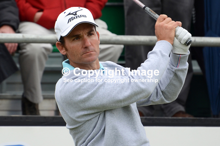 Ignacio Garrido, Spain, professional golfer, 201206160198..Photo taken 26th June 2012 Irish Open Championship, Royal Portrush Golf Club, N Ireland...© Victor Patterson, 54 Dorchester Park, Belfast, N Ireland. Tel: +44 2890661296; Mobile: +44 7802 353836; Emails: victorpatterson@me.com & victorpatterson@gmail.com; www.victorpatterson.com