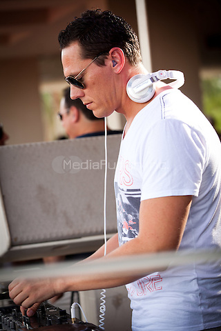 TIESTO performs Labor Day weekend at Wet Republic at MGM Grand in Las Vegas, NV on September 3, 2011. © Erik Kabik / MediaPunch.***HOUSE COVERAGE***