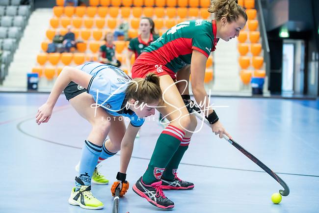 ROTTERDAM  - NK Nacompetitie Zaalhockey .   HGC-MOP dames,   COPYRIGHT KOEN SUYK