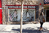 USA, California, San Francisco, The Mission, Vintage by the Pound, Valencia Street