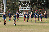 USWNT Training, Friday, January 16, 2015