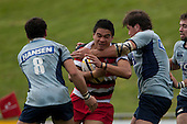 Photo from the Counties Manukau Under 18 vs Northland Under 18 rugby game held at Bayer Growers Stadium Pukekohe on Saturday September 12th 2010.