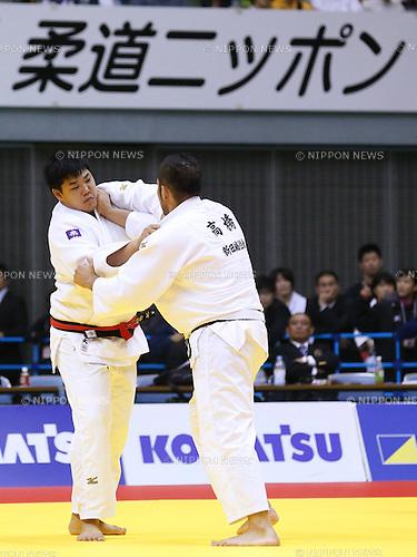 Yusei Ogawa, NOVEMBER 8, 2015 - Judo : Kodokan Cup 2015 Men's +100kg at Chiba Port Arena, Chiba, Japan. (Photo by Sho Tamura/AFLO SPORT)