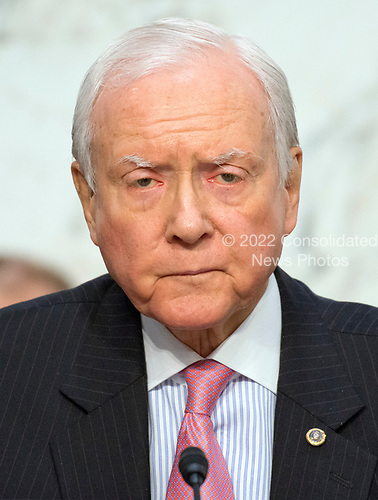 United States Senator Orrin Hatch (Republican of Utah) listens as Judge Neil Gorsuch testifies before the United States Senate Judiciary Committee on his nomination as Associate Justice of the US Supreme Court to replace the late Justice Antonin Scalia on Capitol Hill in Washington, DC on Tuesday, March 21, 2017.  Senator Hatch serves as the President pro tempore of the United States Senate, which is third in the line of presidential succession.<br /> Credit: Ron Sachs / CNP