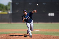 Milwaukee Brewers pitcher Daniel Brown (94) follows through on his delivery during an Instructional League game against the San Diego Padres on September 27, 2017 at Peoria Sports Complex in Peoria, Arizona. (Zachary Lucy/Four Seam Images)