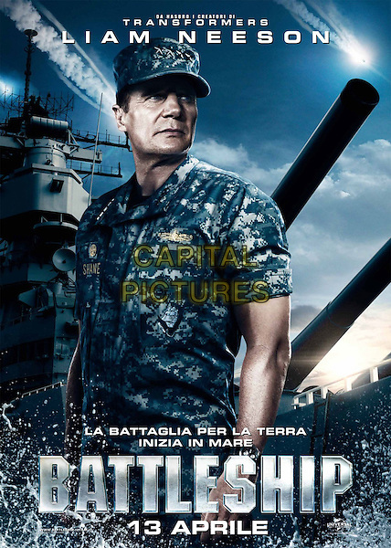 ITALIAN POSTER ART.in Battleship.*Filmstill - Editorial Use Only*.CAP/FB.Supplied by Capital Pictures.