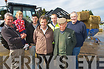 Michael and Amy Horgan, George Poff, John Breen, Mark Kavanagh, Kerry Agribusness, William Neill and Joe Walsh, Kerry Agribusness pictured as farmers collected silage from the Killorglin Agri Busness shop on Monday morning.