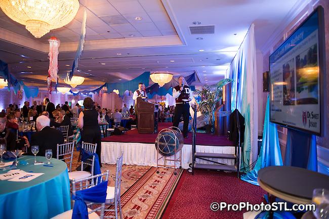 De Smet Jesuit St. Louis boys school 2014 gala at Hilton Frontenac in St. Louis, MO on March 29, 2014.