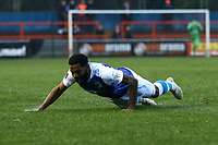 Kemy Agustien of Barrow celebrates scoring the first goal for his team during Braintree Town vs Barrow, Vanarama National League Football at the IronmongeryDirect Stadium on 1st December 2018