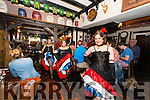 Can Can Girls entartaing people in the Laurels Bar. Killarney 4th of July Celebrations. Photo by Marek Hajdasz www.mhphotos.ie