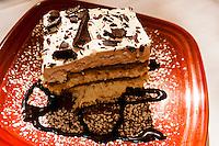 Levante dessert (a New Mexican style tiramisu), El Pinto Restaurant and Cantina, Albuquerque, New Mexico USA