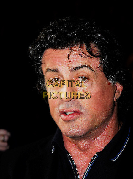 "SYLVESTER ""SLY"" STALLONE.At the UK Film Premiere of ""Rocky Balboa"", .Vue West End Cinema, London, England,.January 16th 2007..portrait headshot.CAP/IA.©Ian Allis/Capital Pictures"