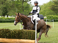 LEXINGTON, KY - April 29, 2017.  #57 Super Socks BCF and Matthew Brown finish in 4th place after completeing the Cross Country Course at the Rolex Three Day Event at the Kentucky Horse Park.  Lexington, Kentucky. (Photo by Candice Chavez/Eclipse Sportswire/Getty Images)
