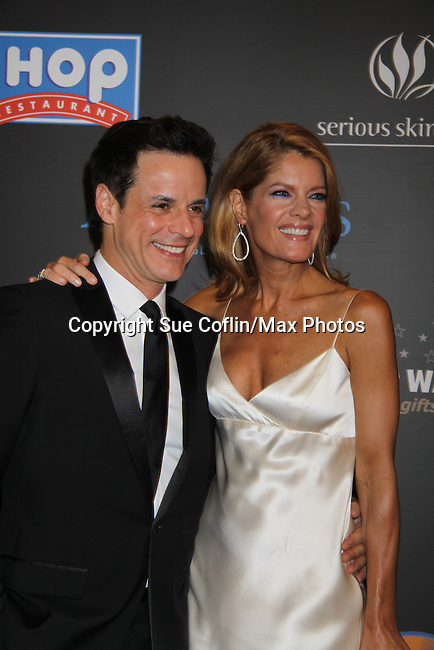 The Young and The Restless Christian LeBlanc & Michelle Stafford  at the 38th Annual Daytime Entertainment Emmy Awards 2011 held on June 19, 2011 at the Las Vegas Hilton, Las Vegas, Nevada. (Photo by Sue Coflin/Max Photos)