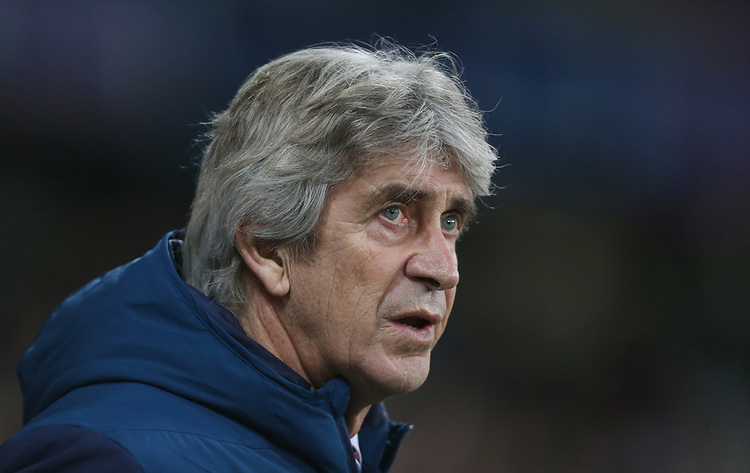 West Ham United manager Manuel Pellegrini <br /> <br /> Photographer Rob Newell/CameraSport<br /> <br /> The Premier League - West Ham United v Brighton and Hove Albion - Wednesday 2nd January 2019 - London Stadium - London<br /> <br /> World Copyright © 2019 CameraSport. All rights reserved. 43 Linden Ave. Countesthorpe. Leicester. England. LE8 5PG - Tel: +44 (0) 116 277 4147 - admin@camerasport.com - www.camerasport.com
