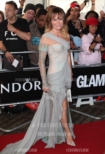 Amanda Holden arriving for the 013 Glamour Awards, Berkeley Square, London. 04/06/2013 Picture by: Alexandra Glen / Featureflash
