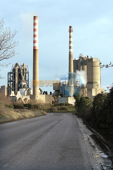 Irish Cement, Platin Works located outside Drogheda..Picture: Paul Mohan/Newsfile