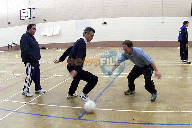 FAI coaching camp for young managers in St. Oliver's School..Picture Paul Mohan Newsfile