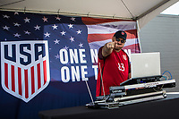 Orlando, FL - Friday Oct. 06, 2017: DJ during a 2018 FIFA World Cup Qualifier between the men's national teams of the United States (USA) and Panama (PAN) at Orlando City Stadium.