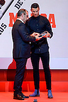 Real Madrid player Cristiano Ronaldo attends to the photocell of the Marca Awards 2015-2016 at Florida Park in Madrid. November 07, 2016. (ALTERPHOTOS/Borja B.Hojas) ///NORTEPHOTO.COM