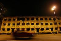 Mostar, Bosnia Herzegovina. The Boulevard.